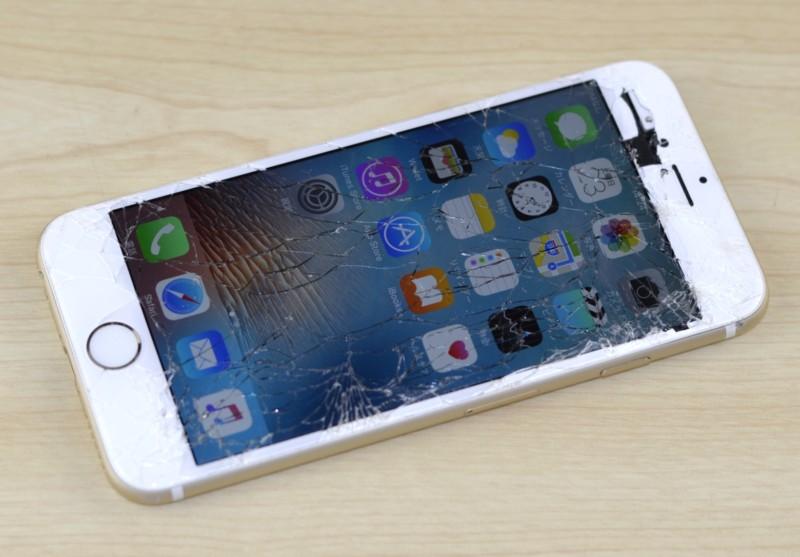 iPhone買取専門店の福岡iPhone買取ドットコムだからできる!画面ガラス割れiPhone高額買取中!